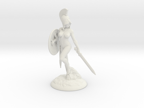 Spartania_80mm in White Strong & Flexible