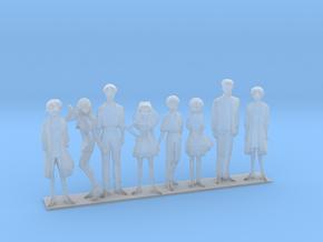 1/100 NERV Team VTOL Diorama in Smoothest Fine Detail Plastic