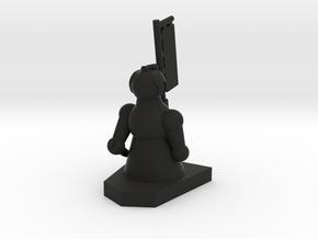 Bishop / Läufer in Black Natural Versatile Plastic