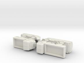 French Renault AGP / AGR GS Trucks 1/144 in White Natural Versatile Plastic