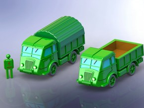 French Renault AGP GS Truck 1/144 in Smooth Fine Detail Plastic
