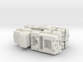 British Thornycroft Antar MK 2 Tractor 1/144 in White Natural Versatile Plastic