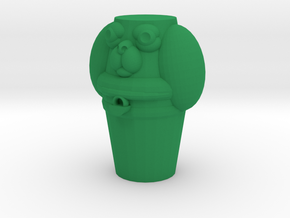 Pupper Stopper I in Green Processed Versatile Plastic