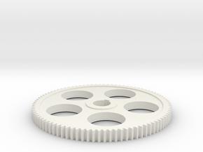 90T mini lathe change gear in White Natural Versatile Plastic