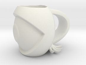 eye mug  in White Natural Versatile Plastic