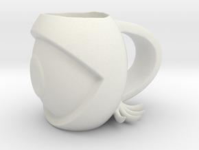 eye mug  in White Natural Versatile Plastic