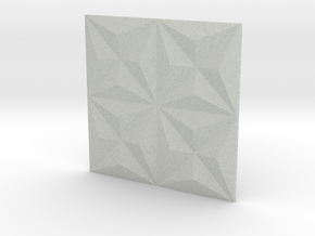 3d Tile 1_sand in Full Color Sandstone