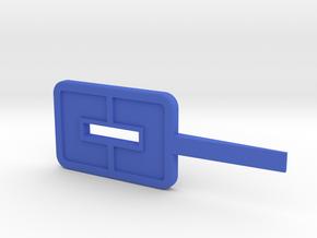 Turf Tool Omega in Blue Processed Versatile Plastic