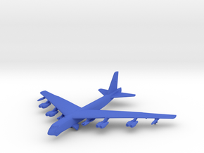 B-52H w/gear in Blue Processed Versatile Plastic: 1:500