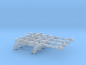 """""""Space Angel"""" Taurus' Blaster (1:18 Scale) 4 Pack in Frosted Ultra Detail"""