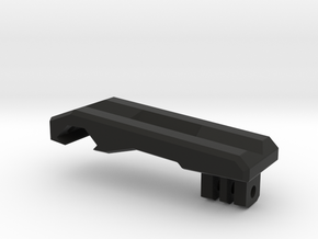 GoPro Mount for Picatinny Rails in Black Natural Versatile Plastic