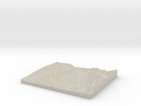 Model of Las Piñitas in Natural Sandstone