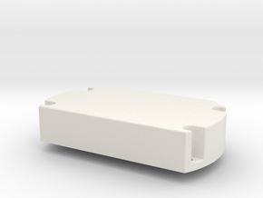 servo_motor_mount in White Natural Versatile Plastic
