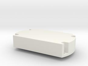servo_motor_mount in White Natural Versatile Plastic