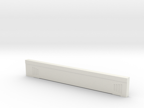 Triple Underpass West Side South Span in White Natural Versatile Plastic