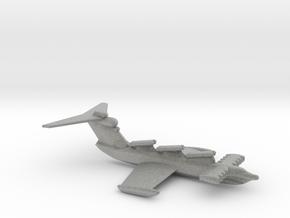 Proekt 903 Lun (Cruise Missile Ekranoplan) in Metallic Plastic: Small
