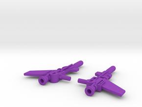 Titans Return Wingspan Weapons in Purple Processed Versatile Plastic