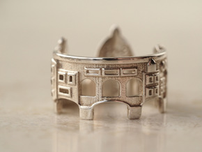 Florence Ring - Romantic Ring Gift in Polished Silver: 5 / 49