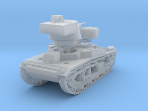 Vickers Medium Mk.III (1:144) in Smooth Fine Detail Plastic