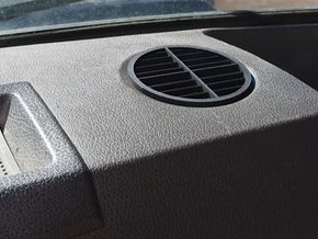 RR Dash Vent in Black Strong & Flexible