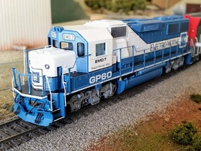 GP60 Demo Cab-Nose Asbuilt in Frosted Ultra Detail