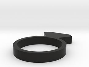 Diams SIZE48 FRENCH in Black Natural Versatile Plastic