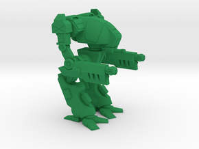 Ravager Type Combat Walker - 6mm in Green Strong & Flexible Polished