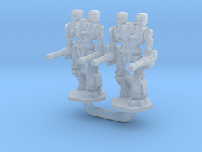 Maul Type Combat Walker 2X - 3mm in Smooth Fine Detail Plastic