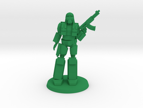 HAHO Trooper in Green Processed Versatile Plastic