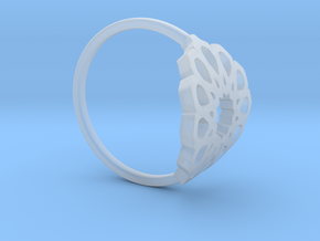 Seamless Ring in Smooth Fine Detail Plastic: Medium