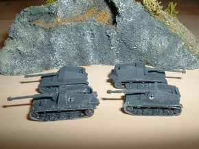 Sturer Emil & Dicker Max Tank Hunters 1/285 6mm in Smooth Fine Detail Plastic