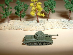 A30 Avenger Tank Hunter Set of 4 1/285 6mm in Smooth Fine Detail Plastic