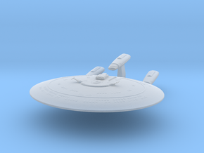 Federation Galaxy-X Class Dreadnought 1:7000 in Smooth Fine Detail Plastic