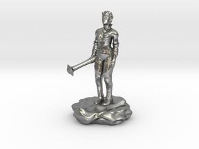 Violet Goldleaf, Gnome Warlock with Rod in Natural Silver
