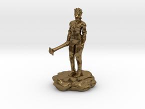 Violet Goldleaf, Gnome Warlock with Rod in Natural Bronze