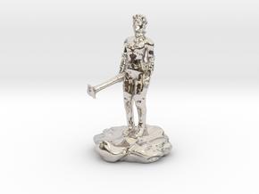 Violet Goldleaf, Gnome Warlock with Rod in Platinum