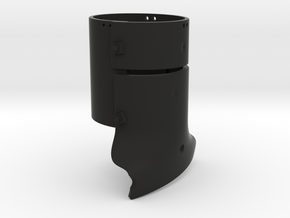 Ned Kelly Outlaw Helmet 1:6 Scale in Black Natural Versatile Plastic