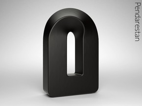 Torusq in Matte Black Porcelain: Medium