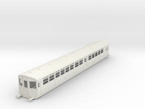 o-76-gwr-diag-u-trailer-coach1 in White Natural Versatile Plastic