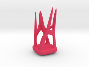 Organic holder  in Pink Processed Versatile Plastic