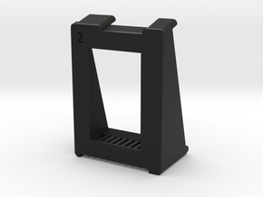 SimpleCradle in Black Natural Versatile Plastic