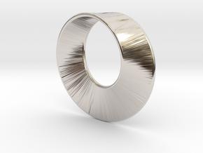 Mini Mobius in Platinum