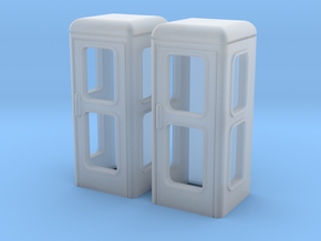 TT Telefonzelle Telh78 (2pc) in Smooth Fine Detail Plastic