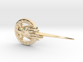 Hand of the King in 14k Gold Plated Brass