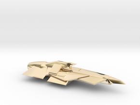 USS Breacher in 14k Gold Plated Brass