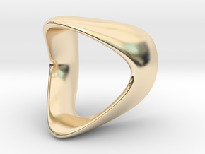 Curve Ring  in 14K Yellow Gold