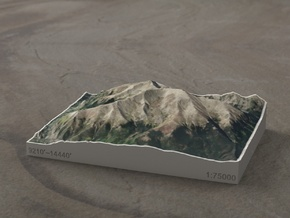 Mt. Elbert, Colorado, USA, 1:75000 in Full Color Sandstone