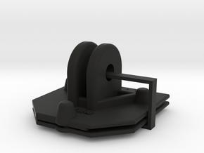 11011R0 iPhone 6/6s/7/8 Cell2 GoPro Mount Set in Black Natural Versatile Plastic
