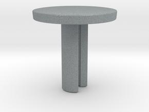 Fidget Spinner Cube Cap - Customizable in Polished Metallic Plastic