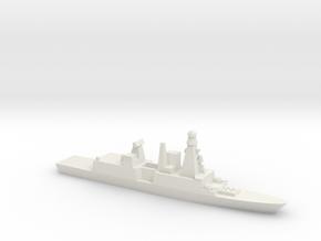 Forbin-Class Frigate, 1/1250 in White Natural Versatile Plastic